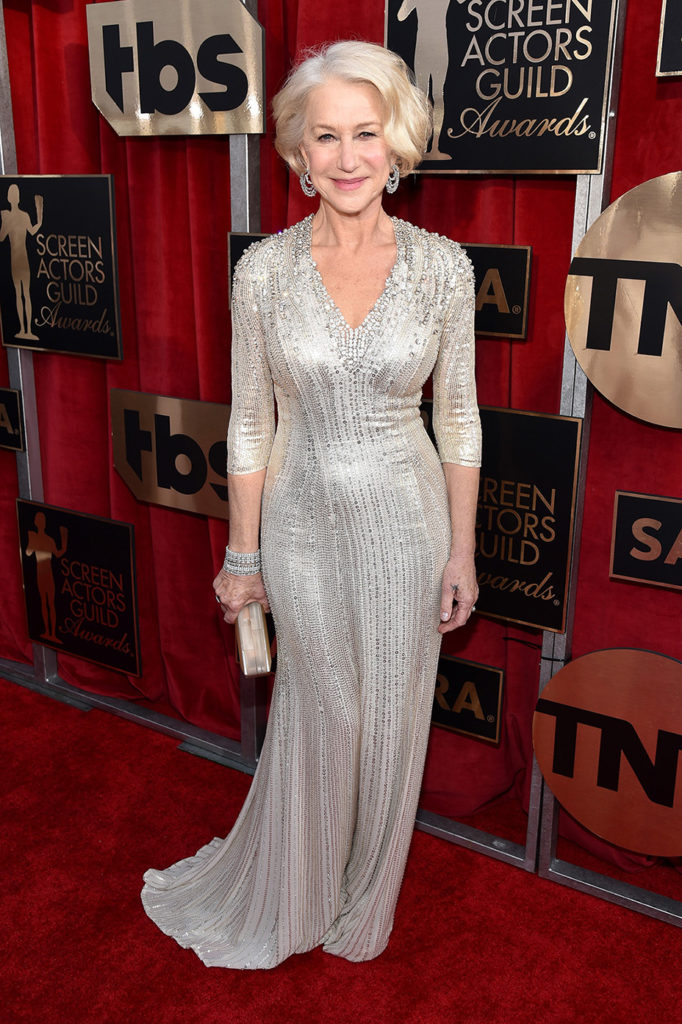 Helen Mirren Gown Images