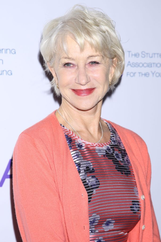 Helen Mirren Makeup Images