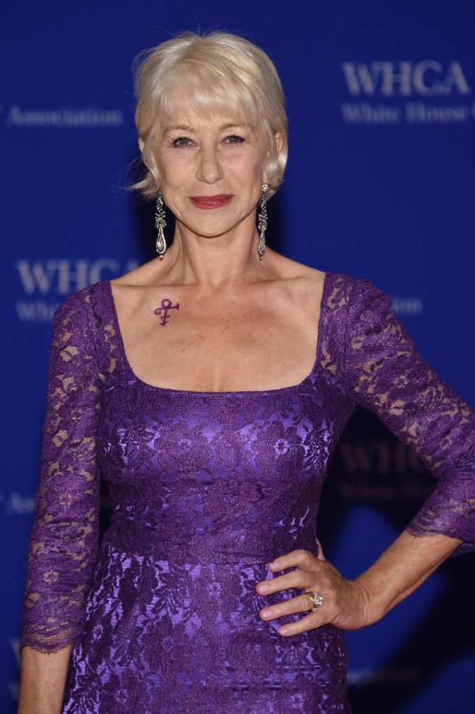 Helen Mirren Short Hair Pictures