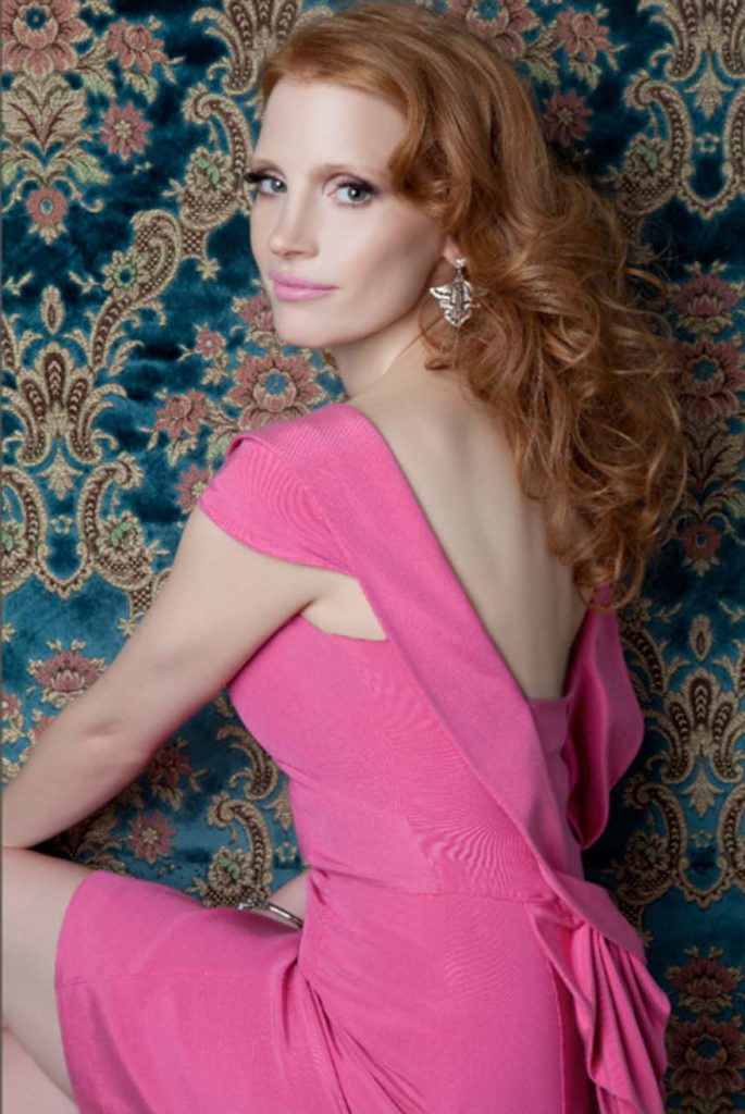 Jessica Chastain Backless Images