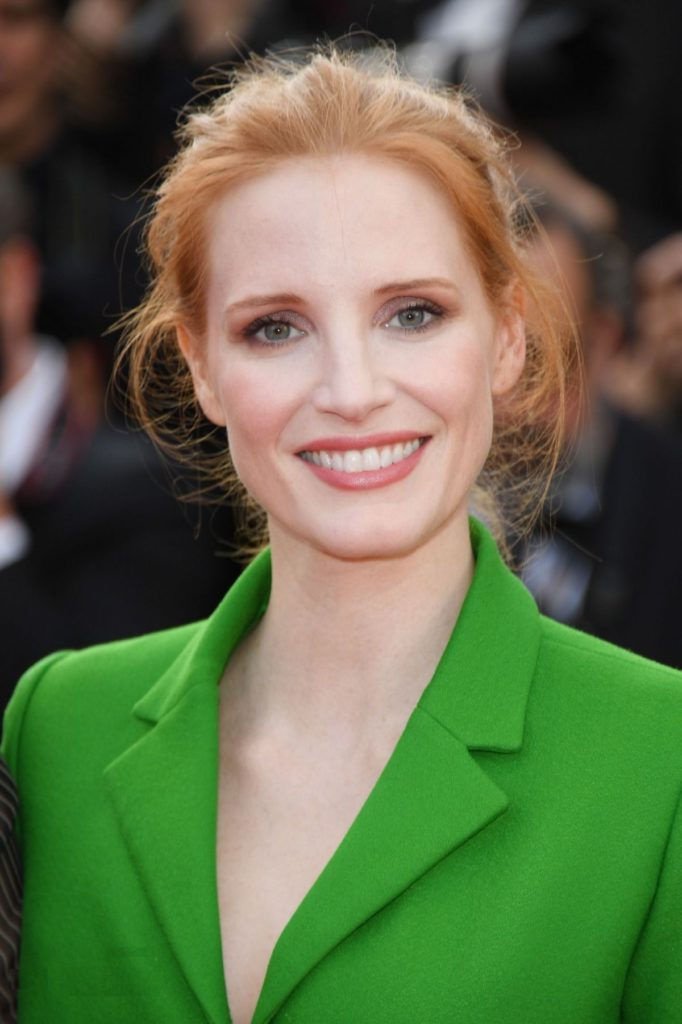 Jessica Chastain Smiling Images