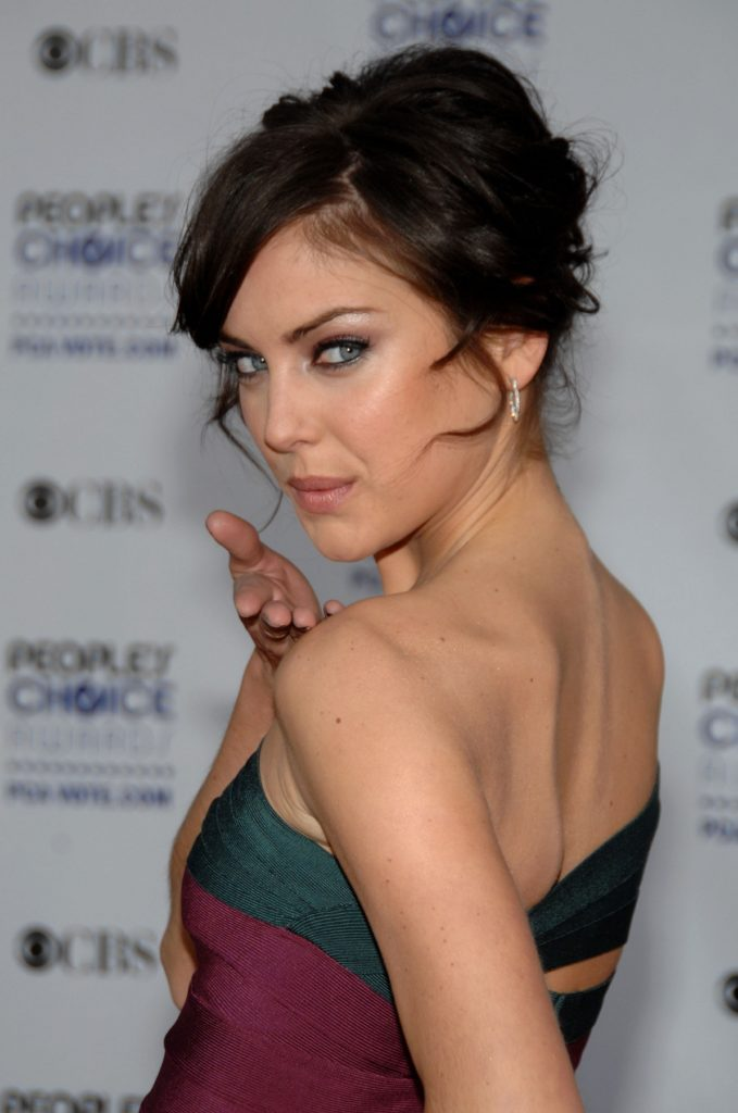 Jessica Stroup Backless Images