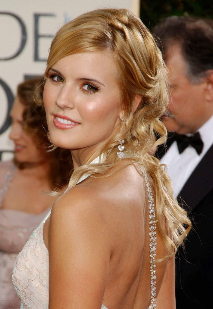 Maggie Grace In Backless Pictures