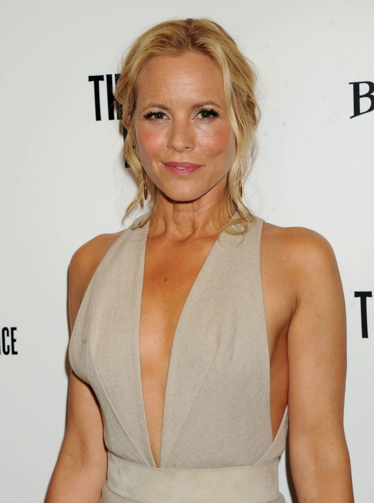 Maria Bello Braless Photos