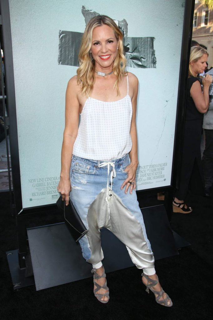 Maria Bello In Leggings Pics