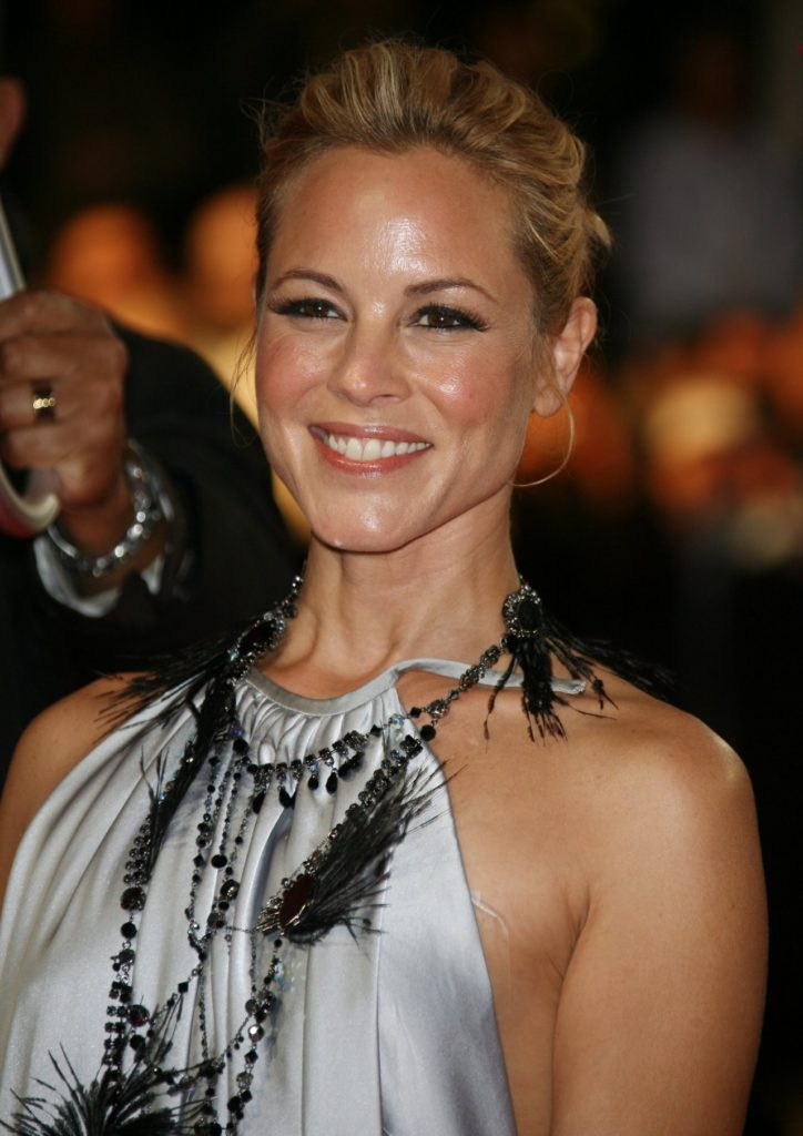 Maria Bello Smiling Images