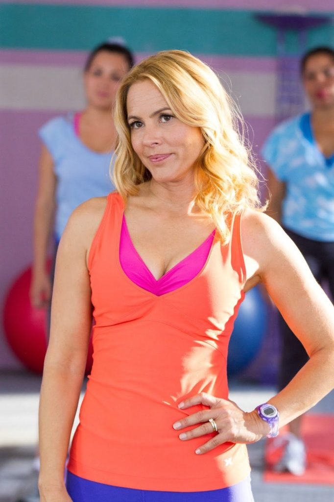 Maria Bello Workout Pics