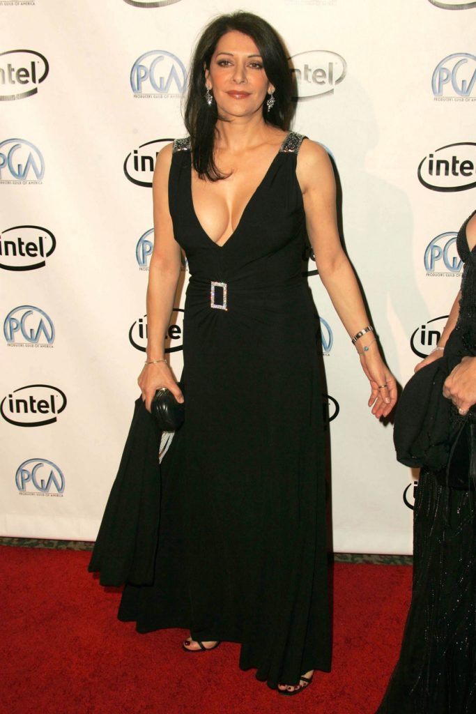 Marina Sirtis In Gown Pics