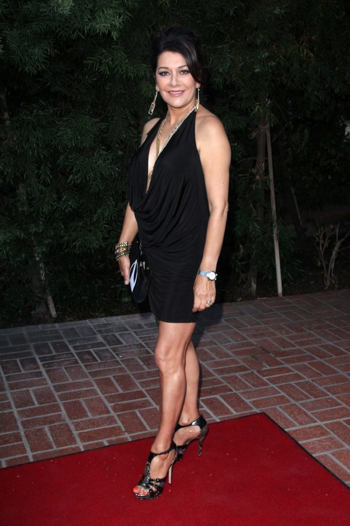 Marina Sirtis Short Dress Pics