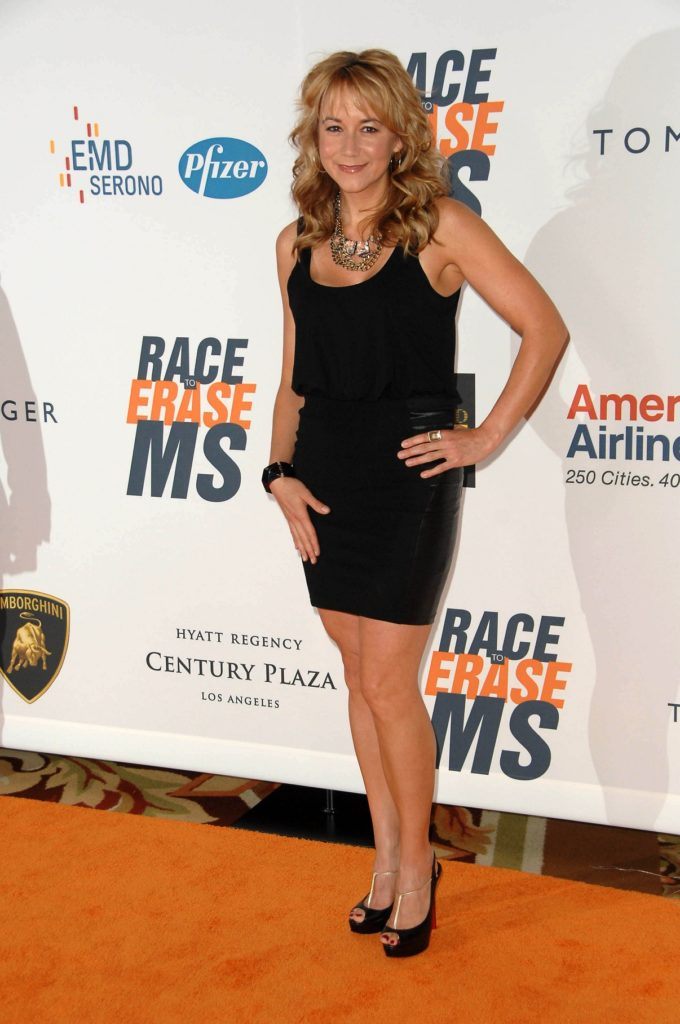 Megyn Price High Heals Photos