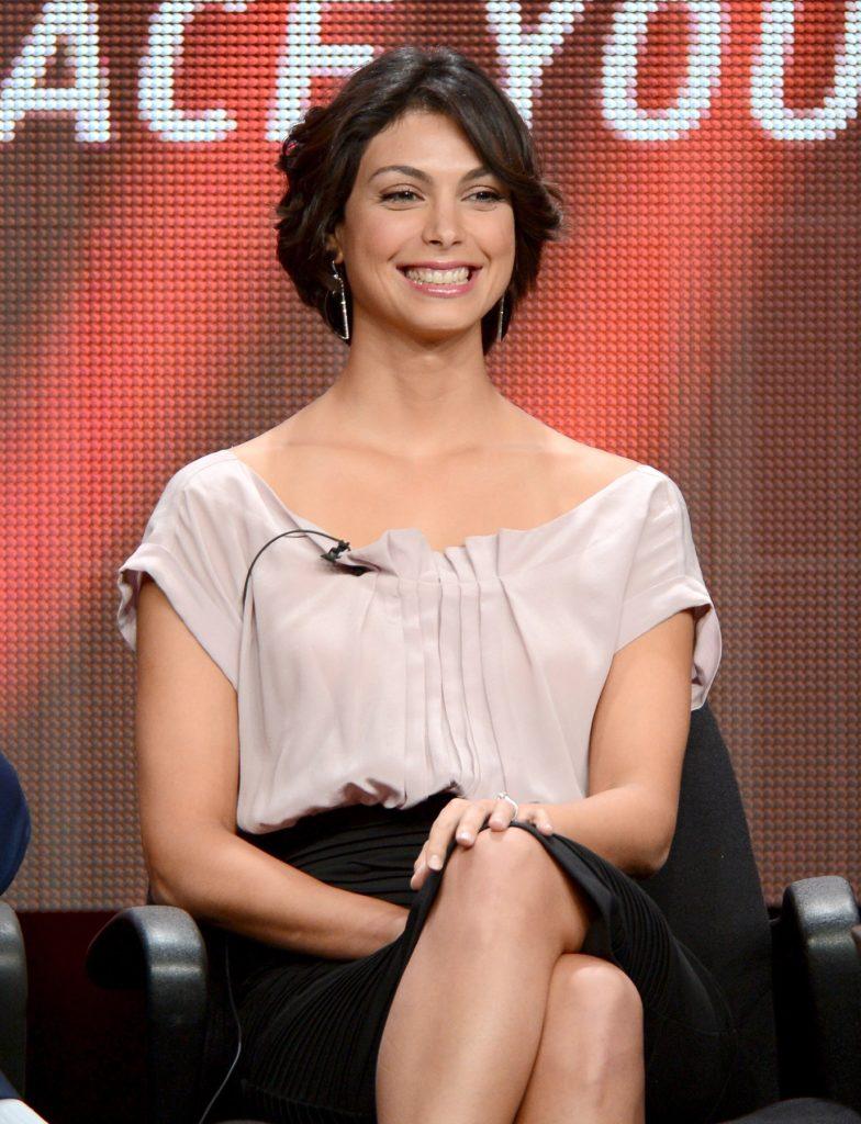 Morena Baccarin Cute Smile Photos