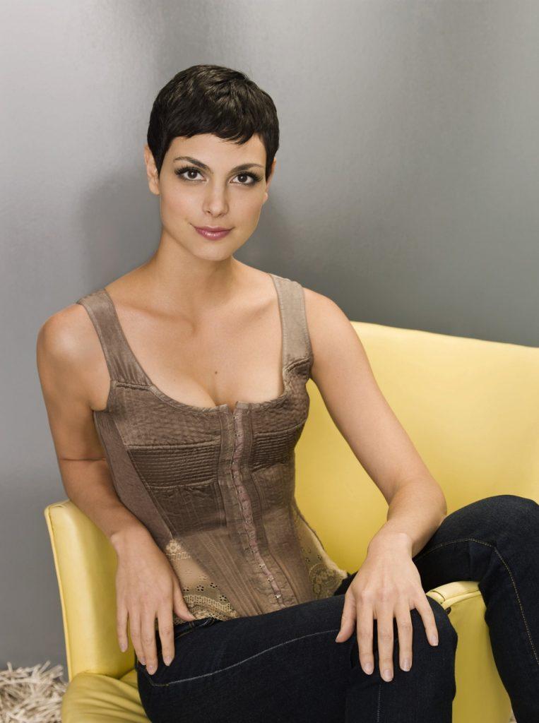 Morena Baccarin Short Hair Pics
