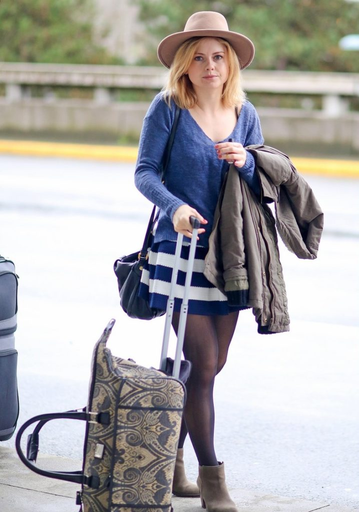 Rose McIver Airport Look Pics