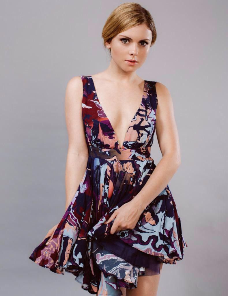 Rose McIver Sexy Photoshoot