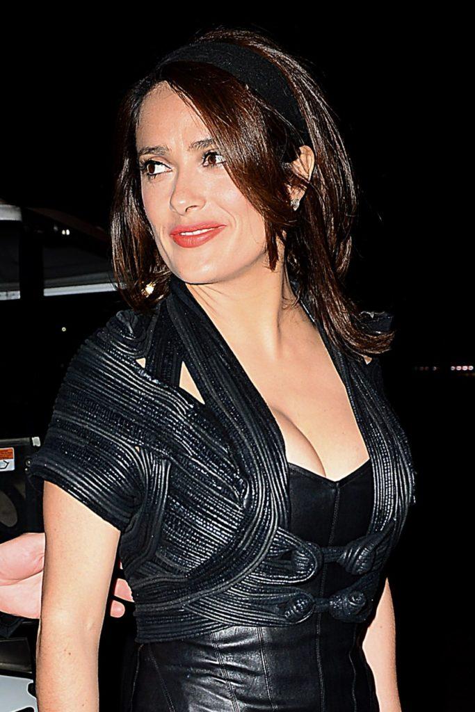 Salma Hayek Bold Pics