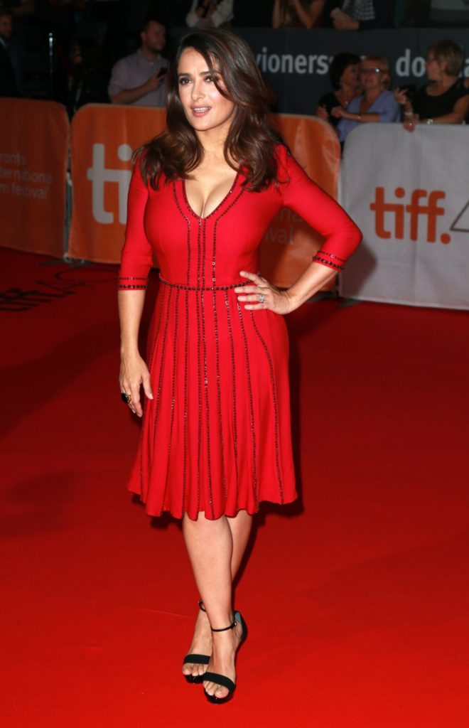Salma Hayek Feet Pictures