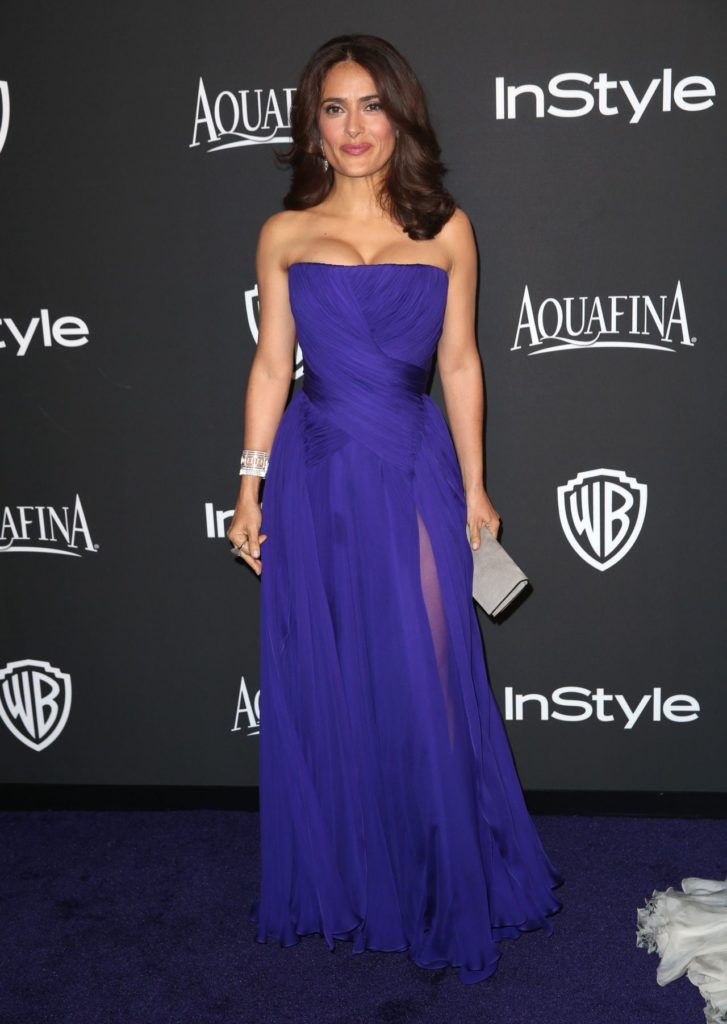 Salma Hayek In Gown Images