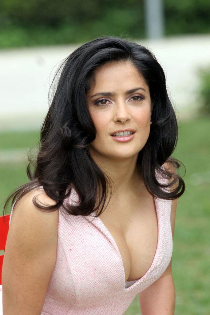 Salma Hayek No Makeup Pics