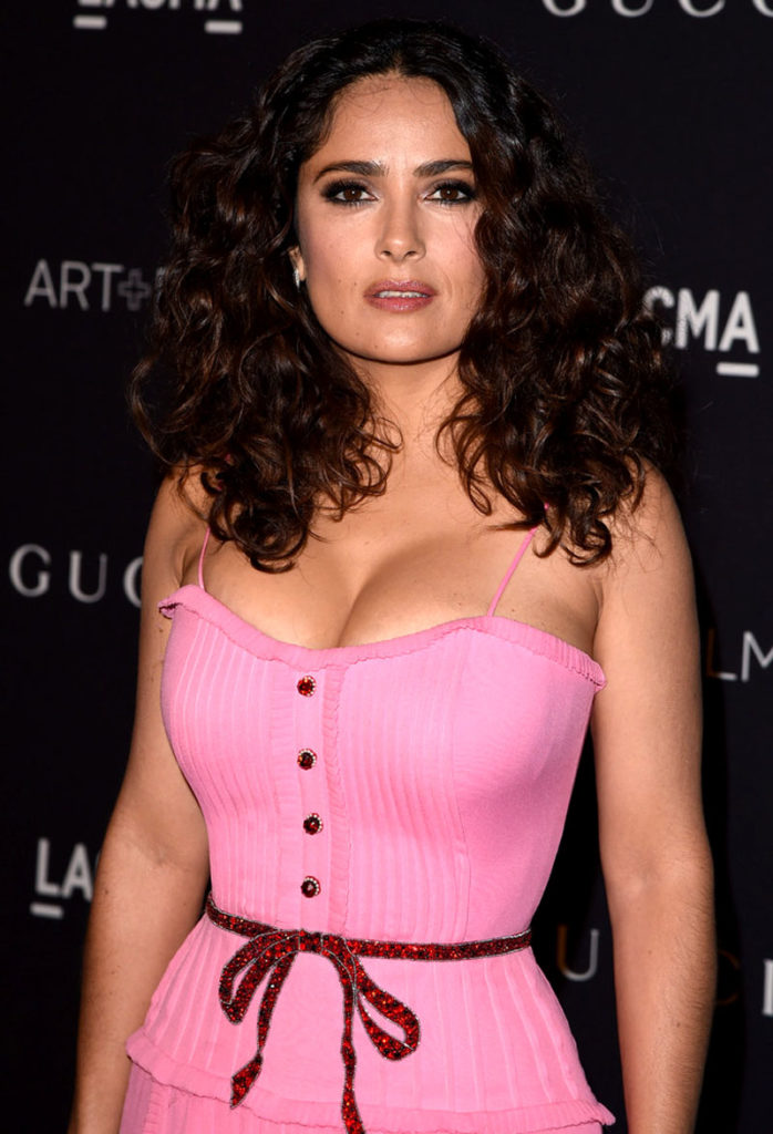 Salma Hayek Oops Moment Images