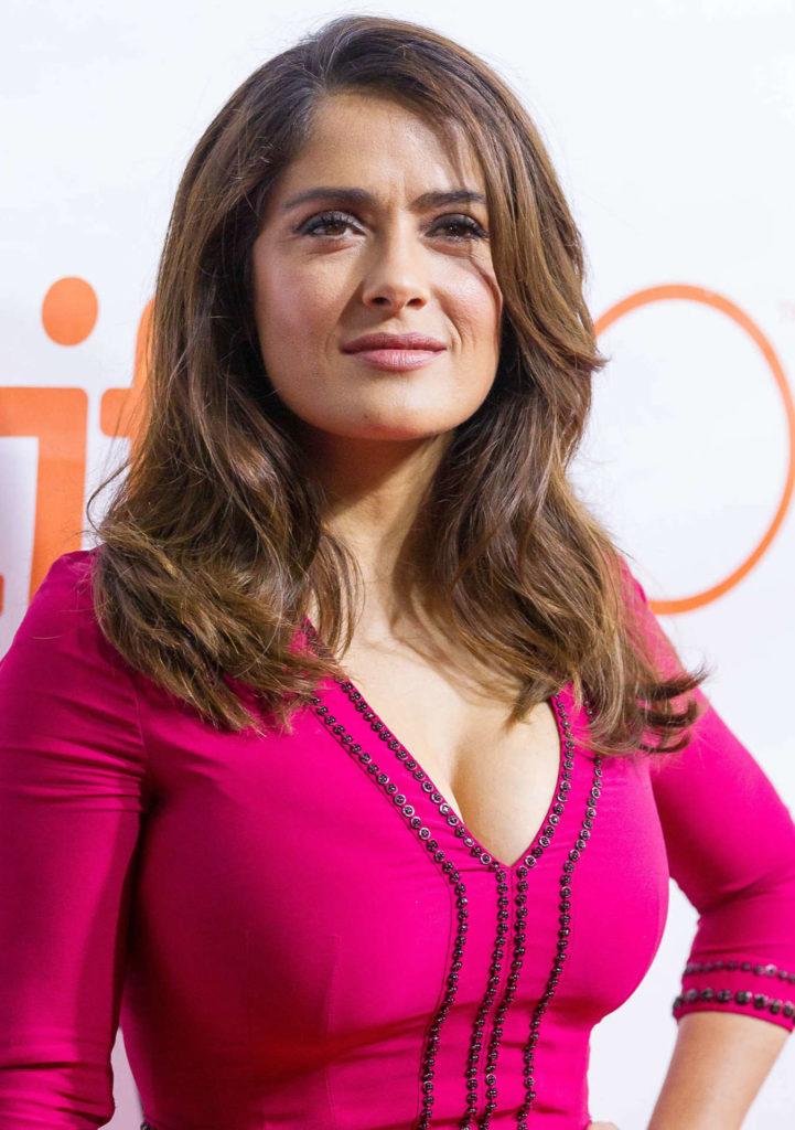 Salma Hayek Short Hair Images