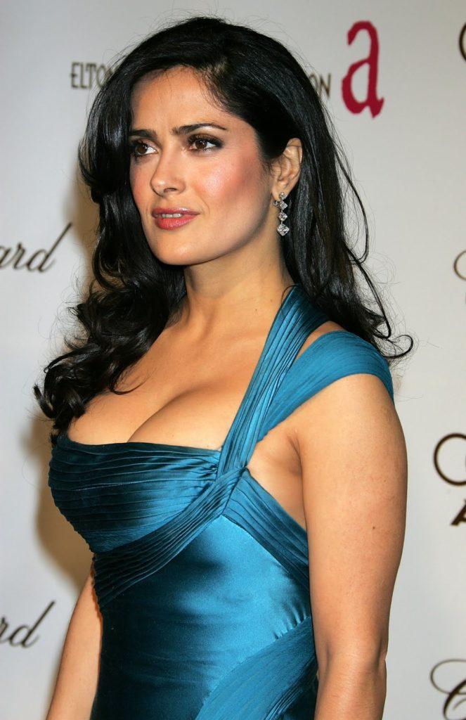 Salma Hayek Topless Images