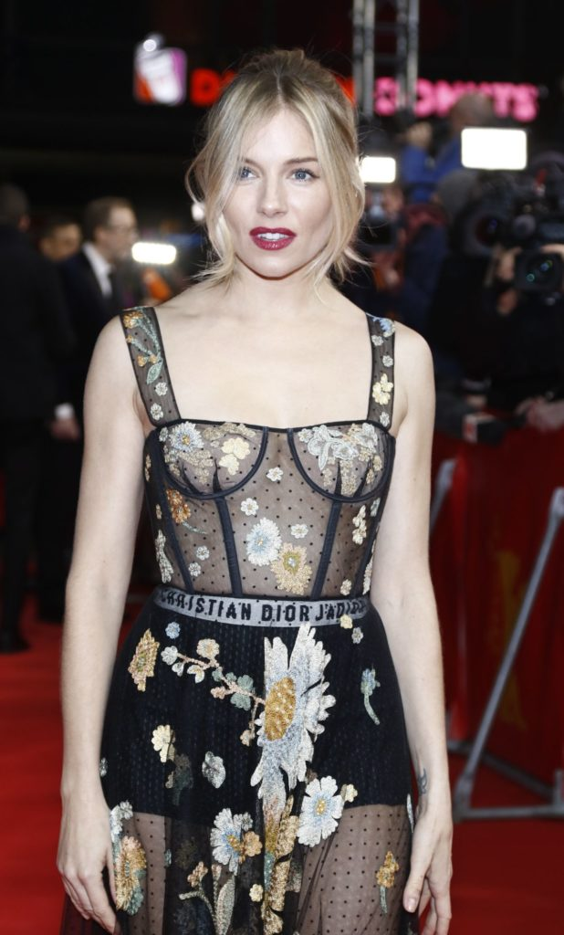 Sienna Miller At Red Carpet Pics