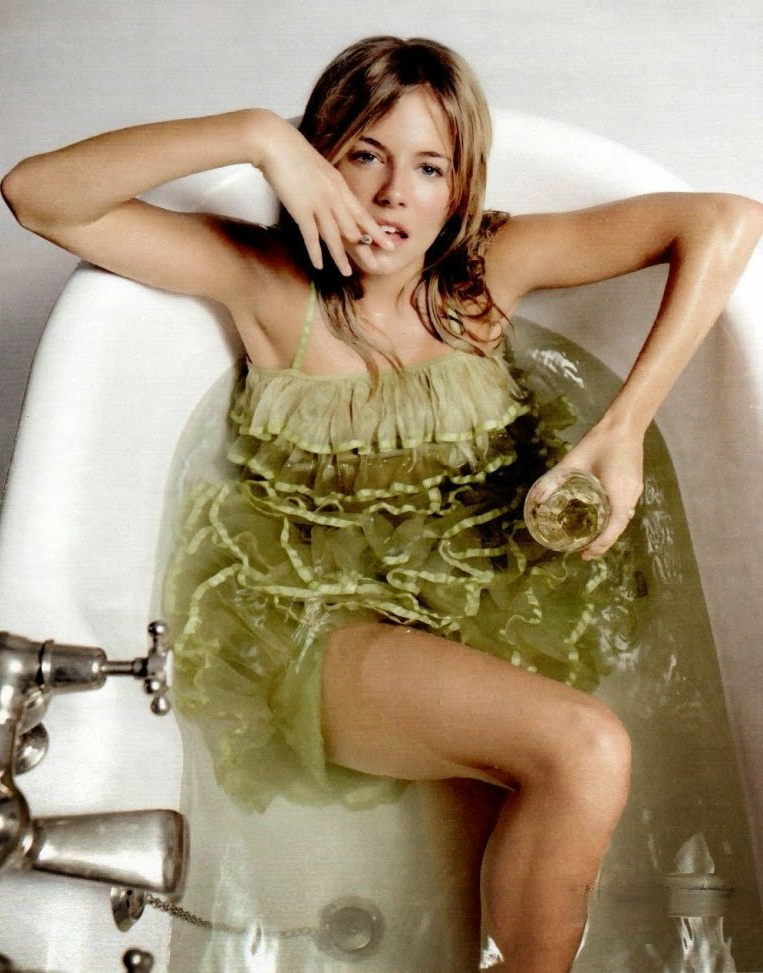 Sienna Miller Bathing Suit Pics