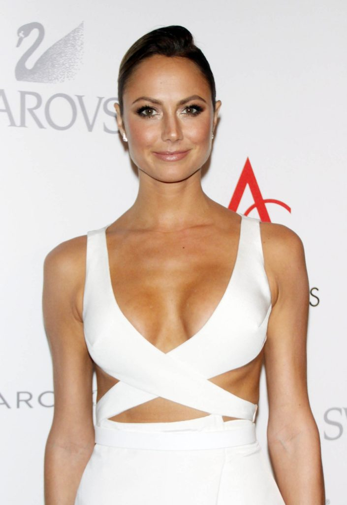 Stacy Keibler Braless Pics
