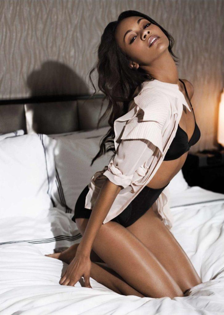 Zoe Saldana Bikini Wallpapers