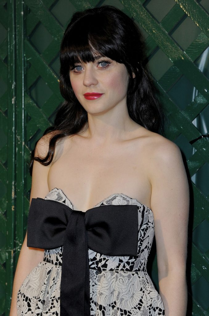 Zooey Deschanel Braless Wallpapers