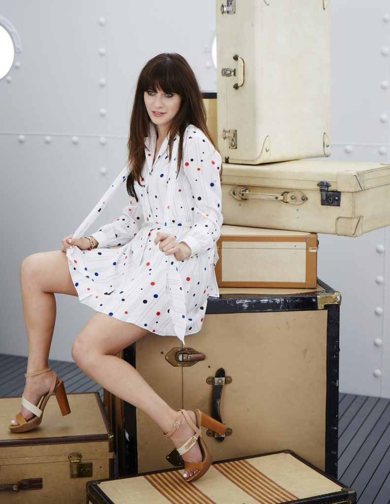 Zooey Deschanel High Heals Pics